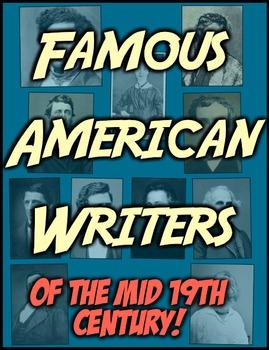 Famous American Writers! Poe, Irving, Hawthorne, Twain, Whitman & More!