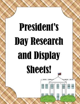 Famous American/President's Day Research Documents