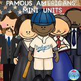 Famous Americans (George Washington Carver, MLK Jr, & more )