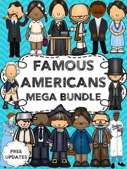 Famous Americans Bundle (including Ben Franklin, George Washington and more)
