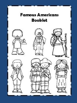 Famous Americans Booklet