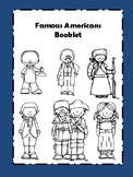 Famous Americans Booklet