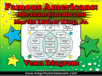 Famous Americans: Abraham Lincoln and Martin Luther King, Jr. Venn Diagram