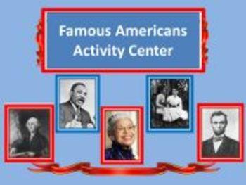 Famous Americans Activity Center