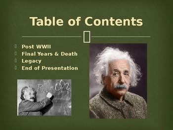 Famous Americans - Albert Einstein