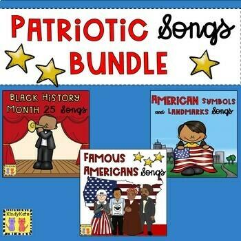Black History Month, Famous Americans, & American Symbols BUNDLE