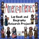Biography Unit Research Report QR Codes Lap Book