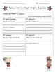 Famous Americans Biography Report Graphic Organizer (W.1.2, W.2.2, W.3.2)