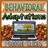 Behavioral Adaptations in Google Slides™