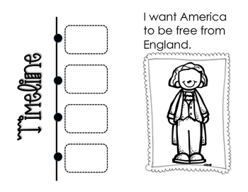 Famous Americans Booklet (2nd Grade SOLs)