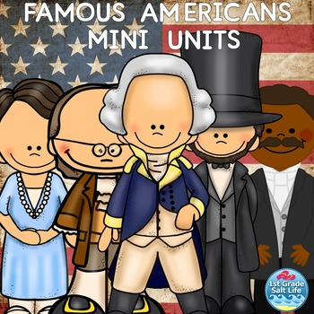Famous Americans with George Washington,  Benjamin  Frankl