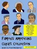 Famous Americans Clip Art Collection! Revere,Anthony,Douglass and More!