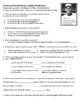 Famous Americans : Close Reading Passages and Assessment
