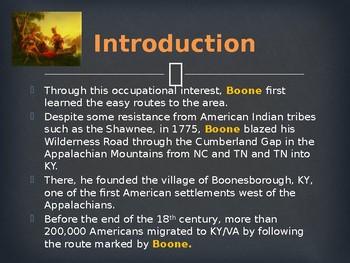 Famous Americans - Daniel Boone