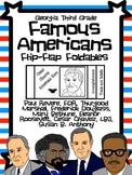 Famous Americans Foldable Kit-3rd Grade Georgia-Traits-Beliefs-Accomplishments