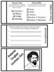 Famous Americans Foldable Kit-3rd Grade Georgia-Traits-Beliefs-Accomplishments
