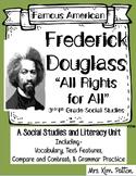 Famous Americans: Frederick Douglass Activities & Interactive Notebook