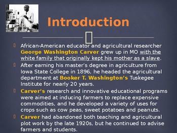 Famous Americans - George Washington Carver