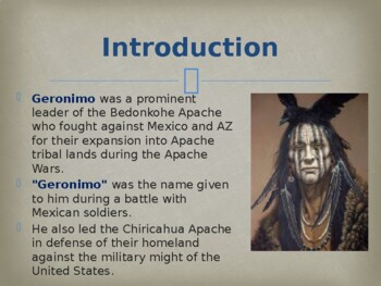 Famous Americans - Geronimo