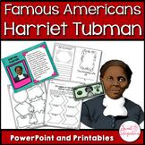 HARRIET TUBMAN BIOGRAPHY - Black History Month Activities