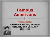 Famous Americans - Helen Keller