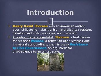 Famous Americans - Henry David Thoreau