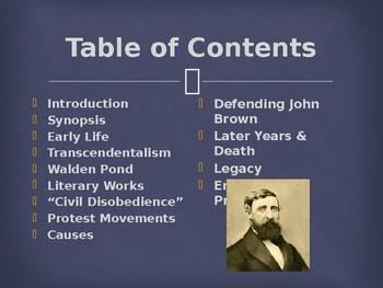 Famous American Writers - Henry David Thoreau