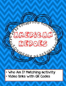 Famous Americans Inquiry Activity with QR Codes