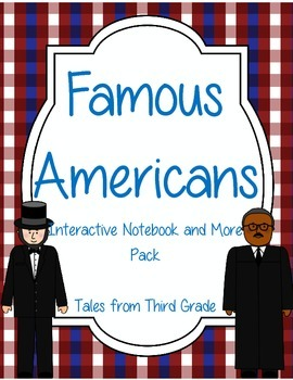 Famous Americans Interactive Notebook