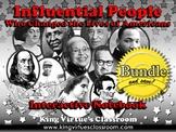 Influential People: Interactive Notebook BUNDLE - Cesar Chavez, Rosa Parks, etc