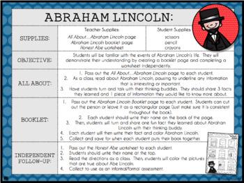 Famous Americans: Lesson Plans, Worksheets, & Activities!
