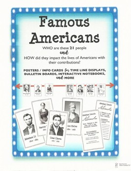 Famous Americans - Let's Get This Straight!