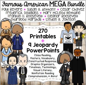 Famous Americans MEGA Bundle