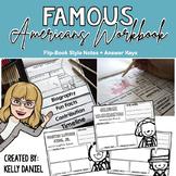 Famous Americans Workbook Unit
