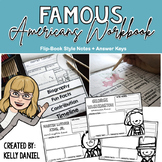 Famous Americans Workbook Unit