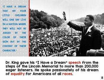 Famous Americans: Martin Luther King, Jr. {Original Non-Fiction eBook}