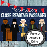 Famous Americans Close Reading