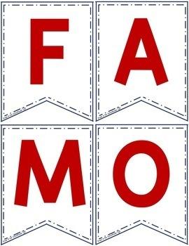 Famous Americans Pennants