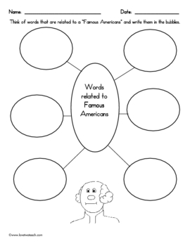 Famous Americans:  President's Literacy and Math Fun