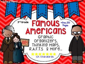 Famous Americans Printables