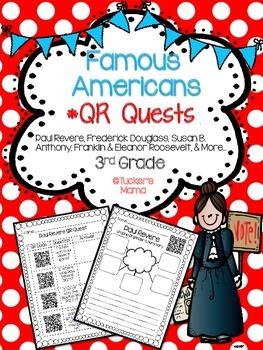 Famous Americans QR Quests