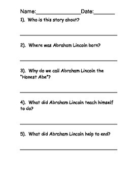 Famous Americans Reading Comprehension  - includes 6 passages and activities!