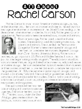 Famous Americans Research: Rachel Carson