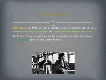 Famous Americans - Rosa Parks