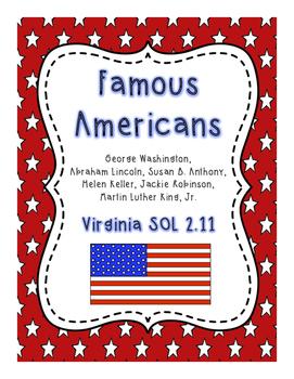 Famous Americans (SOL 2.11)