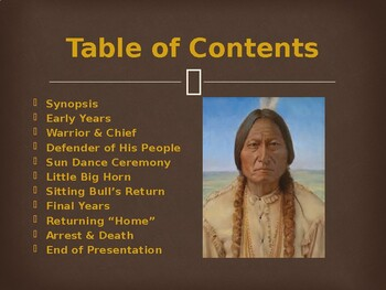 Famous Americans - Sitting Bull