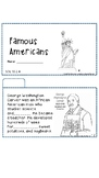 Famous Americans Tab Booklet