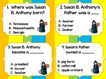 Famous Americans {Task Cards Super Bundle}