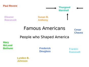 Famous Americans Thurgood Marshall