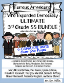 Famous Americans: Ultimate Bundle with 9 Famous American